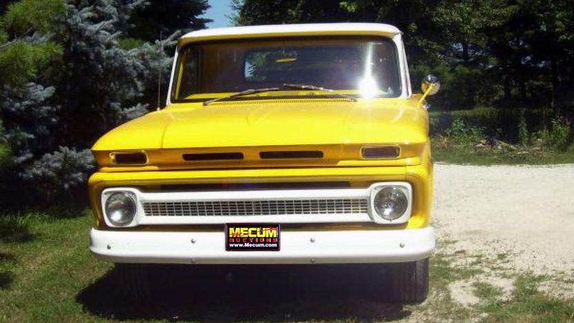 1966 Chevrolet C10 Pickup 292 CI, 3-Speed presented as lot T73 at Kansas City, MO 2011 - image2