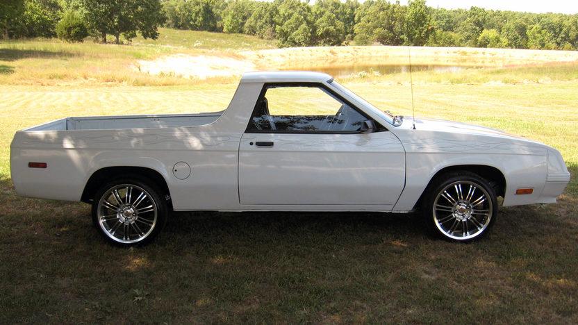 1984 Dodge Rampage Pickup Automatic presented as lot T84 at Kansas City, MO 2011 - image4