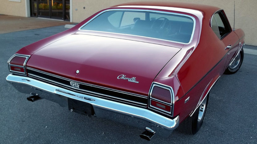 1969 Chevrolet Chevelle SS 2-Door Hardtop 396 CI, 4-Speed presented as lot T132 at Kansas City, MO 2011 - image2