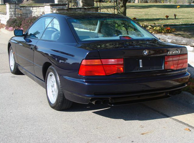 1997 BMW 850ci Coupe presented as lot T133 at Kansas City, MO 2011 - image3