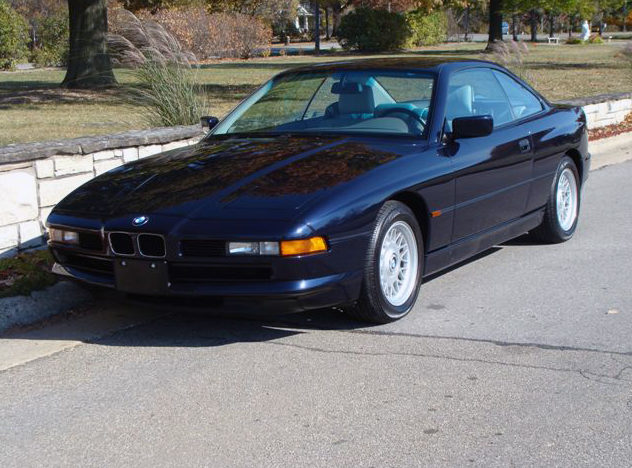 1997 BMW 850ci Coupe presented as lot T133 at Kansas City, MO 2011 - image8