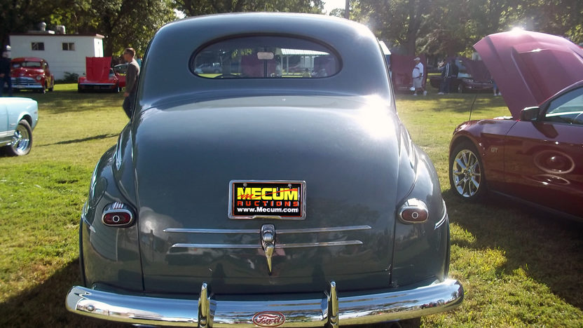 1946 Ford Deluxe Coupe presented as lot T145 at Kansas City, MO 2011 - image3