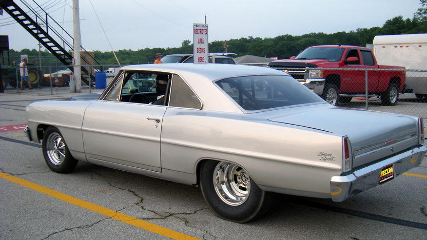 1966 Chevrolet Nova 2-Door Hardtop 540/827 HP, Automatic presented as lot T148 at Kansas City, MO 2011 - image3