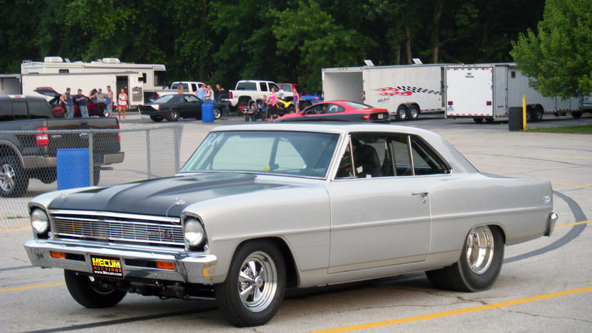 1966 Chevrolet Nova 2-Door Hardtop 540/827 HP, Automatic presented as lot T148 at Kansas City, MO 2011 - image8