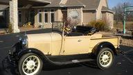 1929 Ford Model A Roadster Pickup presented as lot T254 at Kansas City, MO 2011 - thumbail image4