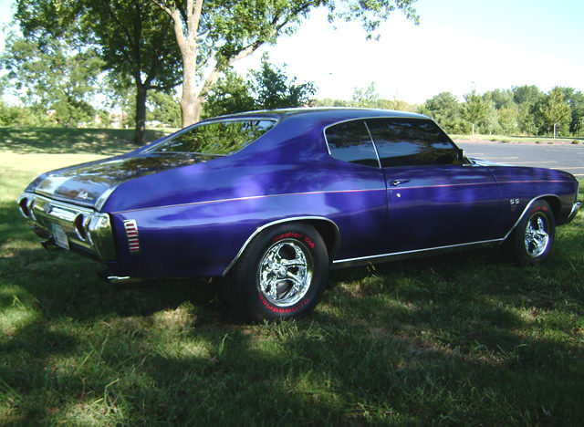1972 Chevrolet Chevelle 2-Door Hardtop 454/450 HP, Automatic presented as lot T255 at Kansas City, MO 2011 - image2