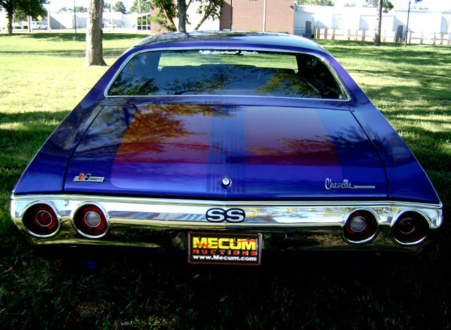 1972 Chevrolet Chevelle 2-Door Hardtop 454/450 HP, Automatic presented as lot T255 at Kansas City, MO 2011 - image7