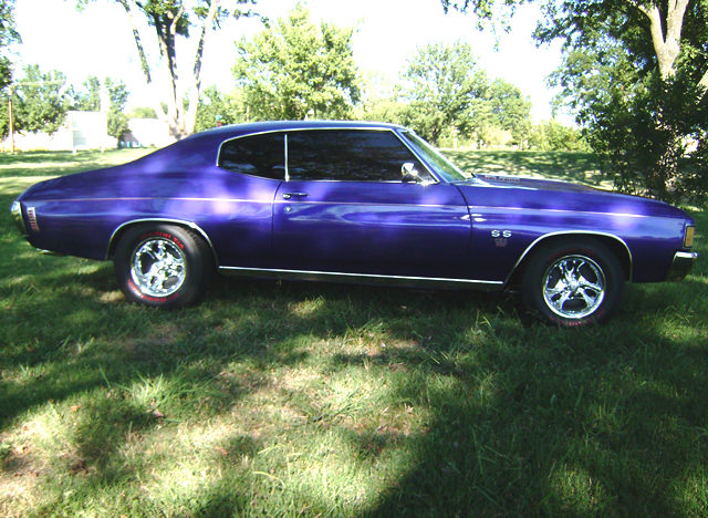 1972 Chevrolet Chevelle 2-Door Hardtop 454/450 HP, Automatic presented as lot T255 at Kansas City, MO 2011 - image8