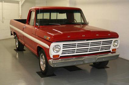 1969 Ford F100 Pickup presented as lot T256 at Kansas City, MO 2011 - image6