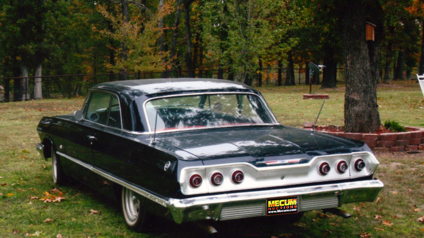 1963 Chevrolet Impala 327 CI, Automatic presented as lot T161 at Kansas City, MO 2011 - image2