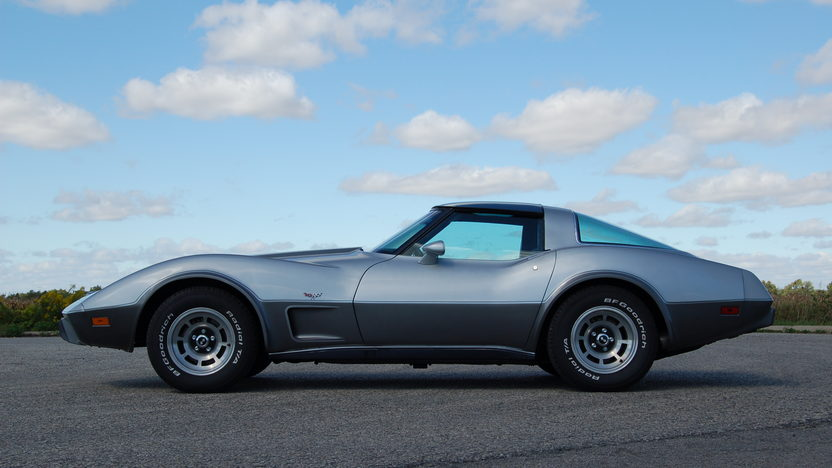 1978 Chevrolet Corvette Silver Anniversary 350 CI, Automatic presented as lot T169 at Kansas City, MO 2011 - image2