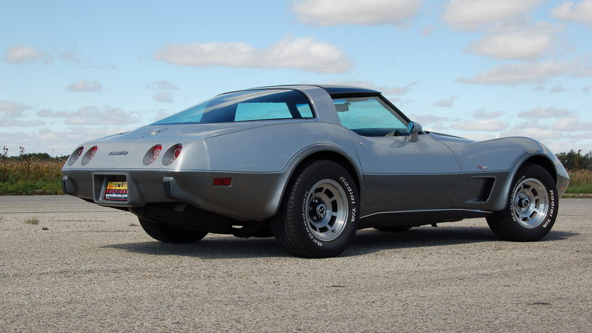 1978 Chevrolet Corvette Silver Anniversary 350 CI, Automatic presented as lot T169 at Kansas City, MO 2011 - image7