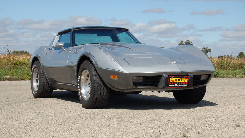 1978 Chevrolet Corvette Silver Anniversary 350 CI, Automatic presented as lot T169 at Kansas City, MO 2011 - image8