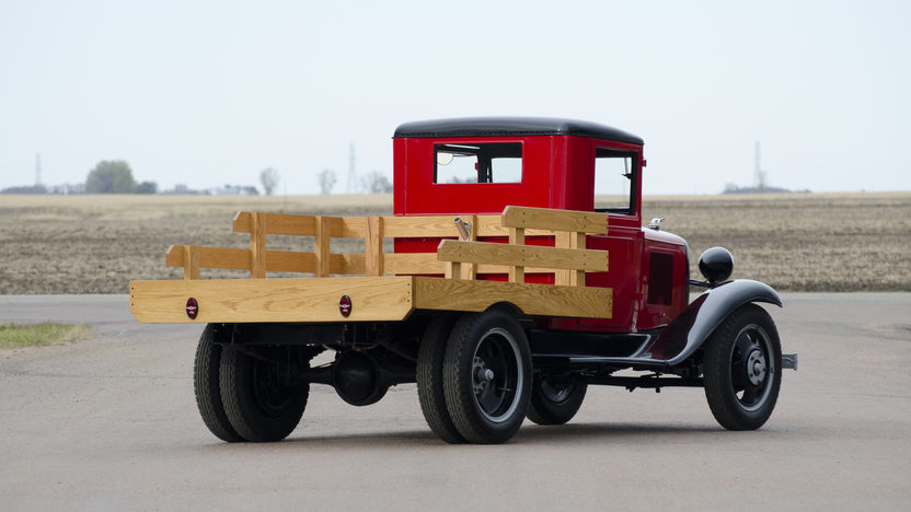 1933 Chevrolet 1 1/2 Ton Stake Bed Pickup 206 CI, 4-Speed  presented as lot T188 at Kansas City, MO 2011 - image2