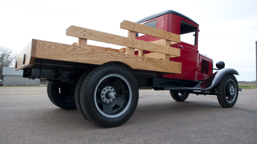 1933 Chevrolet 1 1/2 Ton Stake Bed Pickup 206 CI, 4-Speed  presented as lot T188 at Kansas City, MO 2011 - image3