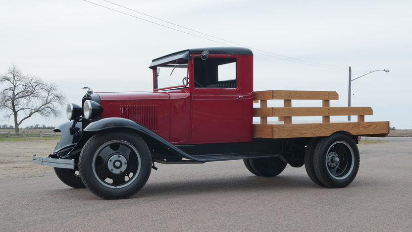 1933 Chevrolet 1 1/2 Ton Stake Bed Pickup 206 CI, 4-Speed  presented as lot T188 at Kansas City, MO 2011 - image8