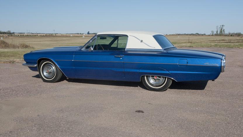 1966 Ford Thunderbird 390 CI, Automatic presented as lot T189 at Kansas City, MO 2011 - image3