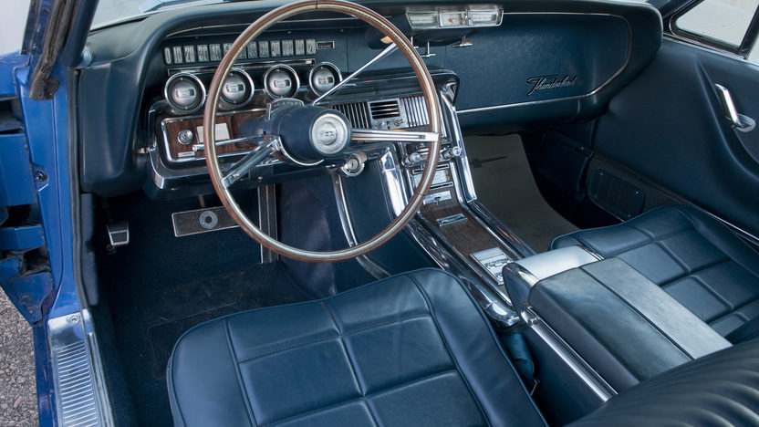 1966 Ford Thunderbird 390 CI, Automatic presented as lot T189 at Kansas City, MO 2011 - image4