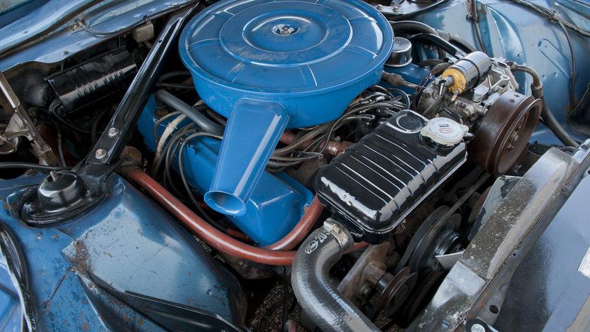 1966 Ford Thunderbird 390 CI, Automatic presented as lot T189 at Kansas City, MO 2011 - image7
