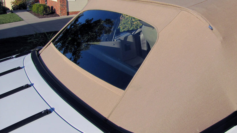 1989 Ford Mustang LX Convertible 5.0L, Automatic presented as lot T215 at Kansas City, MO 2011 - image3