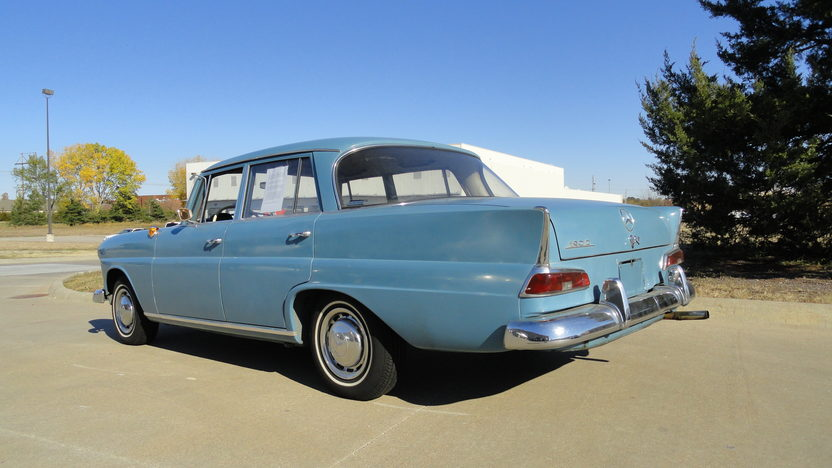 1966 Mercedes-Benz 190 DC 4-Door presented as lot T232 at Kansas City, MO 2011 - image2