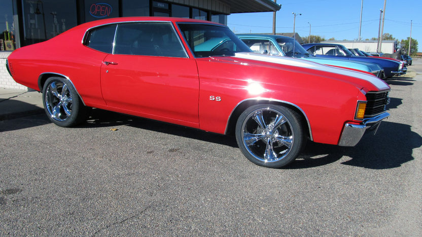 1972 Chevrolet Chevelle 383/460 HP, Automatic presented as lot T238 at Kansas City, MO 2011 - image8