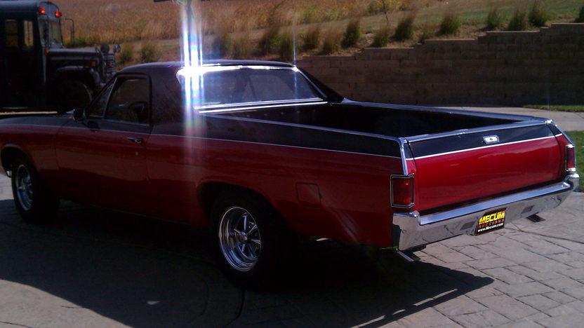1968 Chevrolet El Camino 327 CI, Automatic presented as lot F4 at Kansas City, MO 2011 - image3