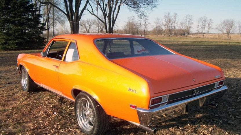 1968 Chevrolet Nova SS presented as lot F8 at Kansas City, MO 2011 - image3