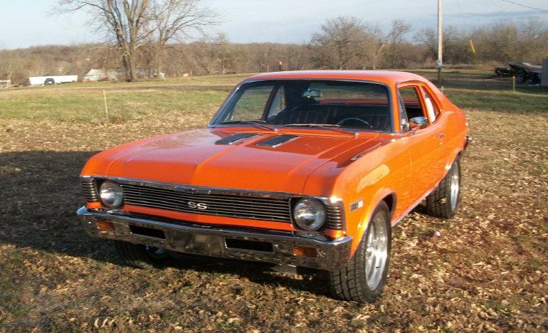 1968 Chevrolet Nova SS presented as lot F8 at Kansas City, MO 2011 - image6