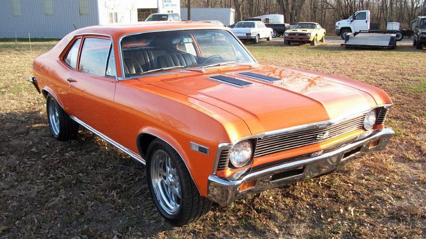 1968 Chevrolet Nova SS presented as lot F8 at Kansas City, MO 2011 - image7
