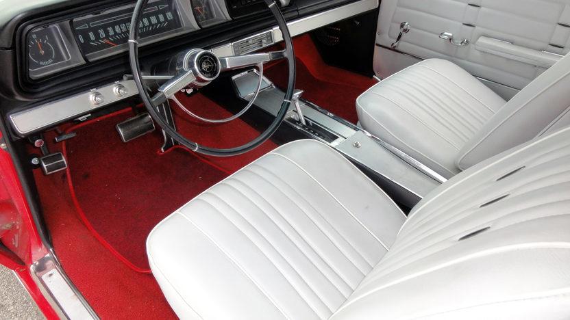 1966 Chevrolet Impala SS Convertible 283 CI, Automatic presented as lot F10 at Kansas City, MO 2011 - image3