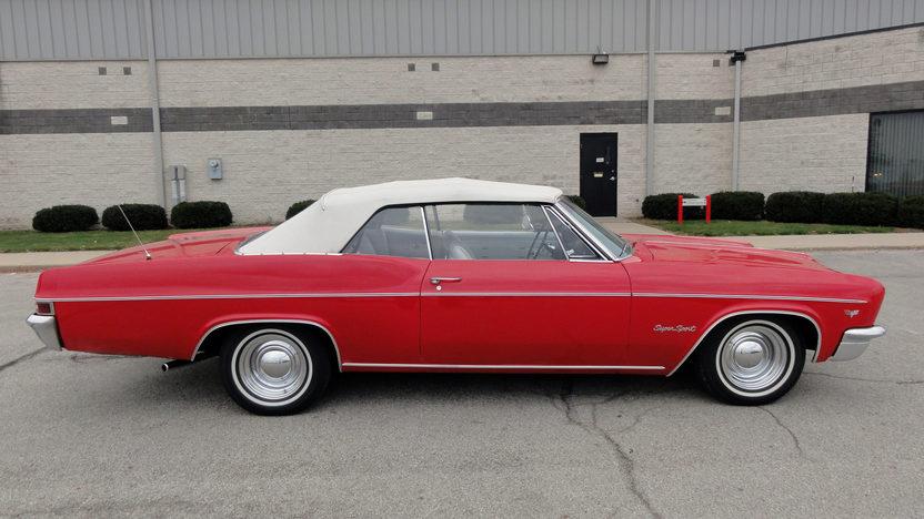1966 Chevrolet Impala SS Convertible 283 CI, Automatic presented as lot F10 at Kansas City, MO 2011 - image5