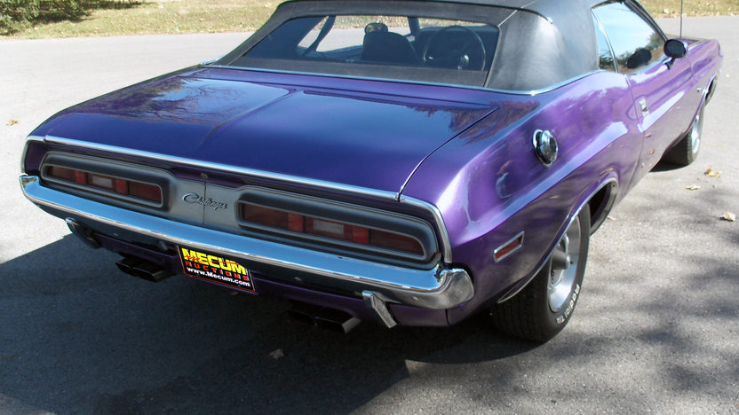1971 Dodge Challenger Convertible 383/300 HP, Automatic presented as lot F14 at Kansas City, MO 2011 - image2
