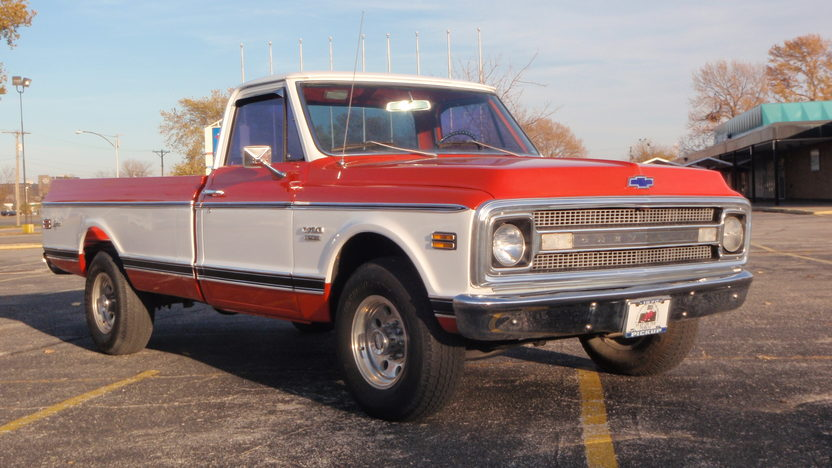1970 Chevrolet C-30 Longhorn Pickup 402 CI, 4-Speed presented as lot F15 at Kansas City, MO 2011 - image3