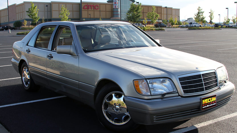 1995 Mercedes-Benz S420 presented as lot F26 at Kansas City, MO 2011 - image2