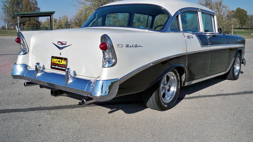 1956 Chevrolet Bel Air 4-Door Sedan 350 CI, Automatic presented as lot F27 at Kansas City, MO 2011 - image2
