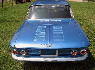 1962 Chevrolet Corvair Coupe 4-Speed presented as lot F36 at Kansas City, MO 2011 - image2