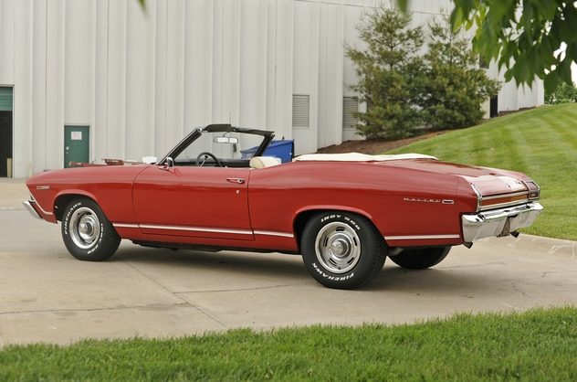 1969 Chevrolet Chevelle Convertible 350 CI, Automatic presented as lot F42 at Kansas City, MO 2011 - image7