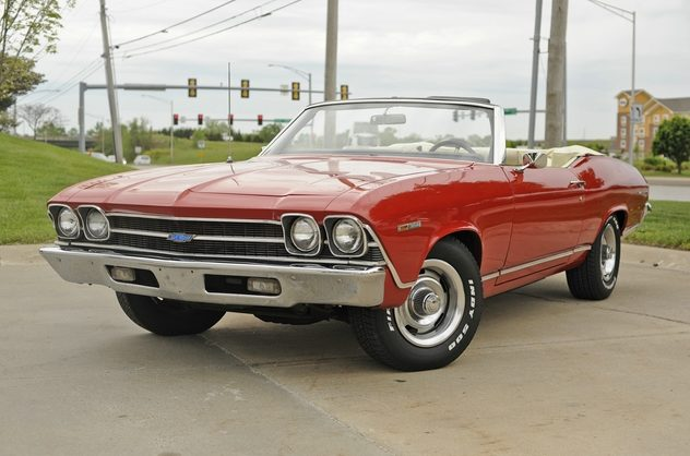 1969 Chevrolet Chevelle Convertible 350 CI, Automatic presented as lot F42 at Kansas City, MO 2011 - image8