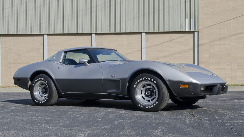 1978 Chevrolet Corvette Silver Anniversary L82, Automatic presented as lot F49 at Kansas City, MO 2011 - image10