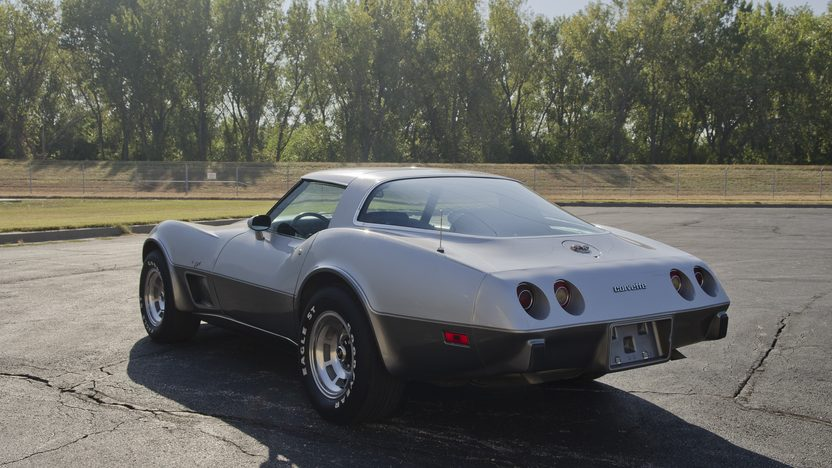 1978 Chevrolet Corvette Silver Anniversary L82, Automatic presented as lot F49 at Kansas City, MO 2011 - image3