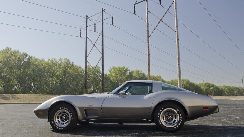 1978 Chevrolet Corvette Silver Anniversary L82, Automatic presented as lot F49 at Kansas City, MO 2011 - image9