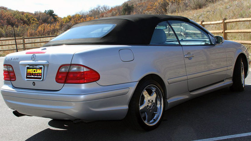 2000 Mercedes-Benz CLK430 Convertible presented as lot F59 at Kansas City, MO 2011 - image3