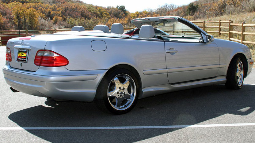 2000 Mercedes-Benz CLK430 Convertible presented as lot F59 at Kansas City, MO 2011 - image4