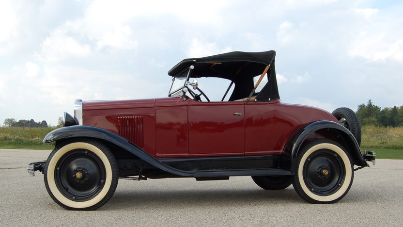 1929 Chevrolet  Roadster 6 CYL, 3-Speed presented as lot F82 at Kansas City, MO 2011 - image2