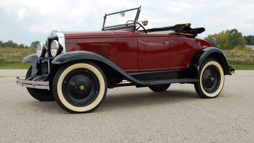 1929 Chevrolet  Roadster 6 CYL, 3-Speed presented as lot F82 at Kansas City, MO 2011 - image8