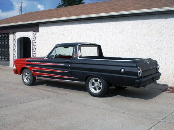 1965 Ford Ranchero 260 CI, Automatic presented as lot F83 at Kansas City, MO 2011 - image3