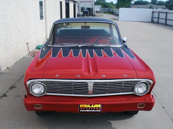 1965 Ford Ranchero 260 CI, Automatic presented as lot F83 at Kansas City, MO 2011 - image8