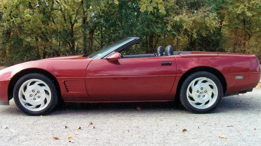 1995 Chevrolet Corvette Convertible LT1, Automatic presented as lot F87 at Kansas City, MO 2011 - image2