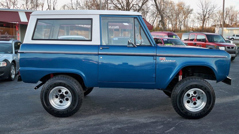 1974 Ford Bronco 4x4 302 CI, Automatic presented as lot F101 at Kansas City, MO 2011 - image2